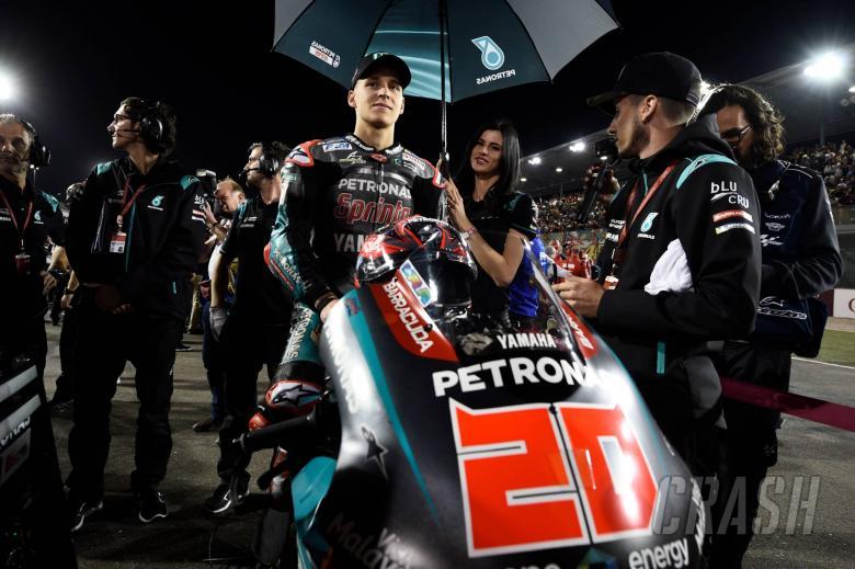 MotoGP: Quartararo fastest lap after grid stall nightmare