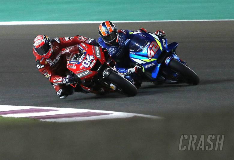 MotoGP: Dovi had to stop 'embarrassingly' fast Rins, 'MotoGP different now'
