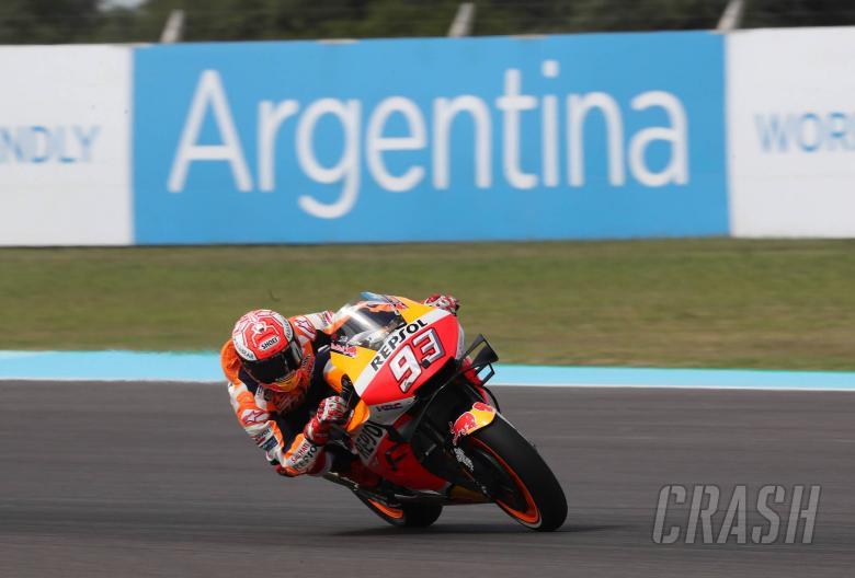 Argentina MotoGP - Free Practice (1) Results
