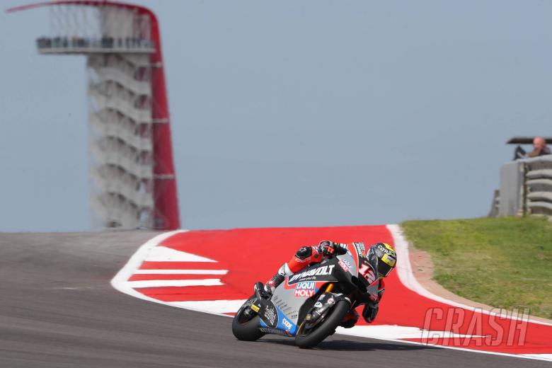 Moto2 Austin: Luthi pulls the pin for Texas win