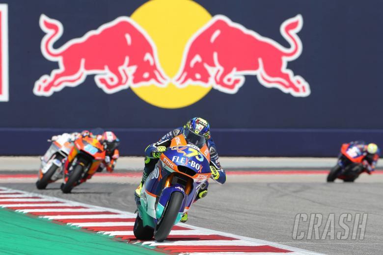 Moto2 Jerez: Baldassarri bangkit kembali untuk menang setelah drama bendera merah