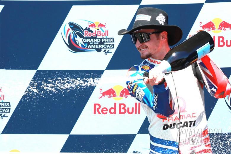 MotoGP: Miller: 'Long time between drinks!'