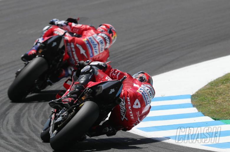 Ducati: New livery, Dovi confident, Petrucci podium goal