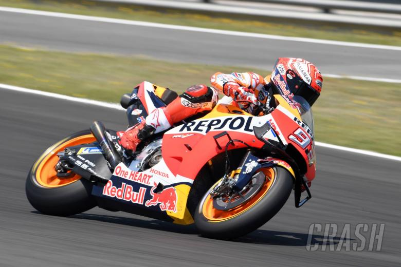 Marquez lays down the marker in Mugello FP1