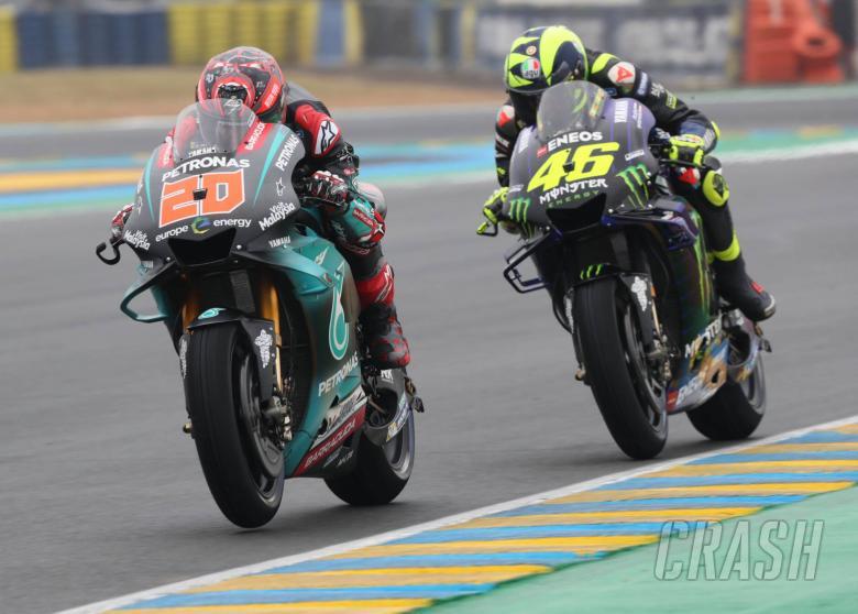 Quartararo, Rossi, French MotoGP 2019