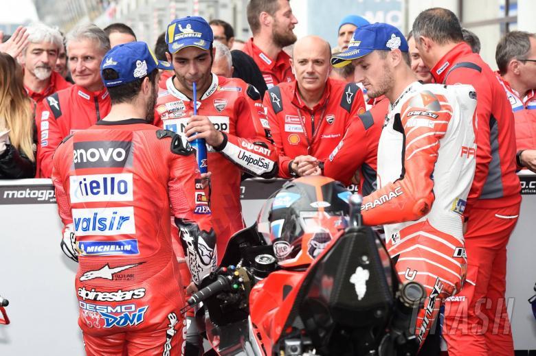 Dovizioslo, Petrucci, Miller, French MotoGP race 2019
