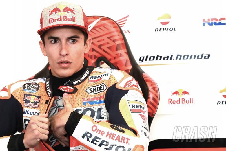 Marquez 'sick, reactions slower'