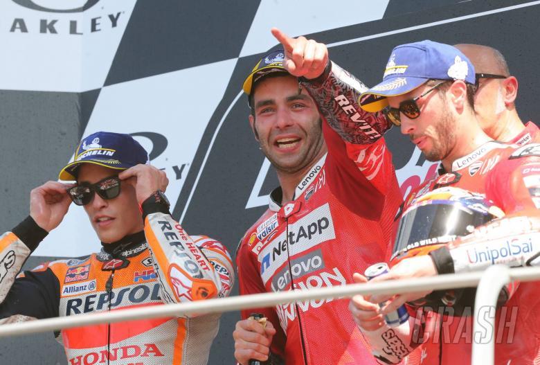 Marquez, Petrucci, Dovizioso, MotoGP race Italian MotoGP 2019