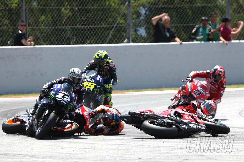 Lorenzo crash, MotoGP race, Catalunya MotoGP 2019