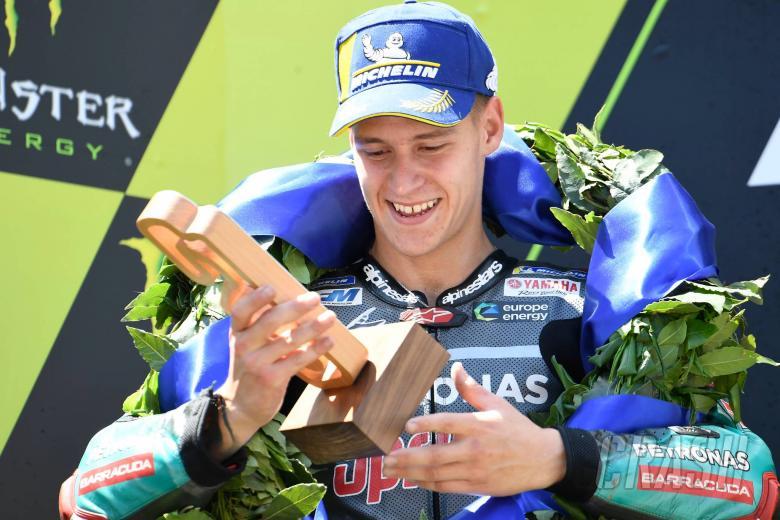 Quartararo bides his time to snatch maiden MotoGP podium