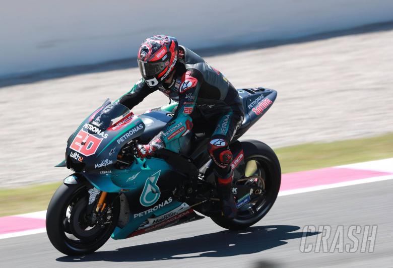 Quartararo. Catalunya MotoGP test. 17th June 2019