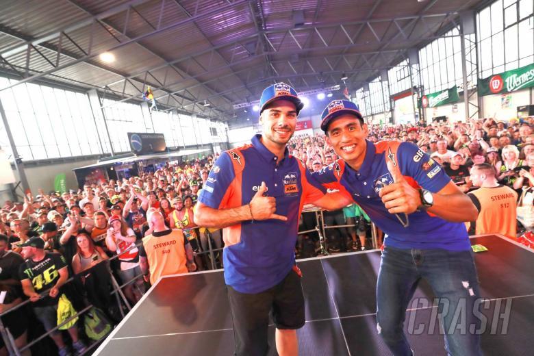 Oliveira, Syahrin eager to restart at Brno