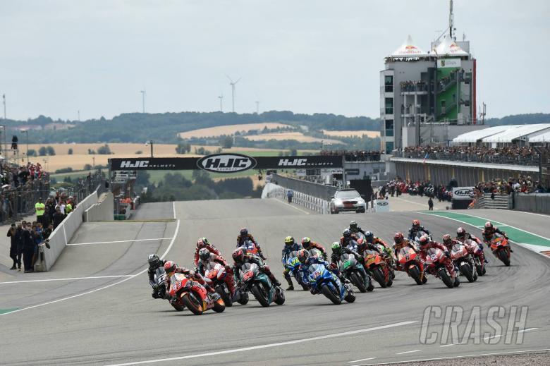 Marquez, Race Start, German MotoGP race 2019