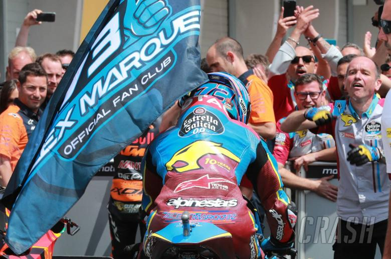 Alex Marquez, Moto2 race, German MotoGP 2019