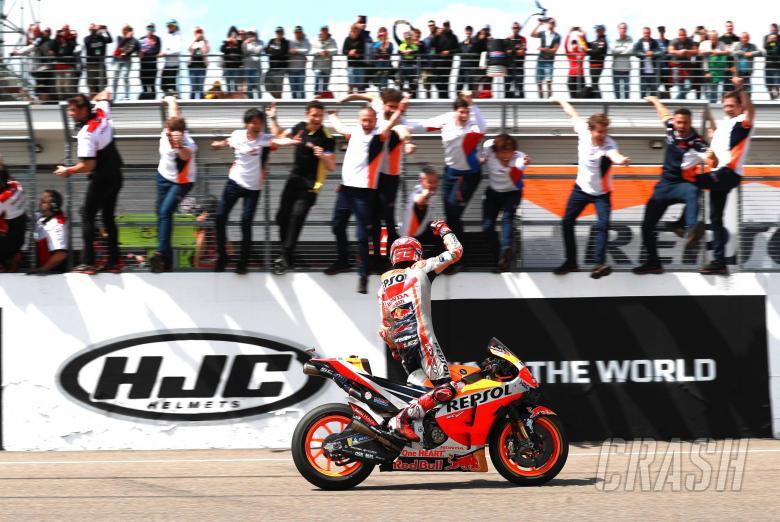 Marc Marquez dalam Posisi Berbeda Menuju Sachsenring