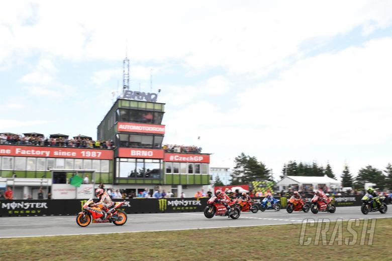 Marquez, quick re start grid, Czech MotoGP race 2019