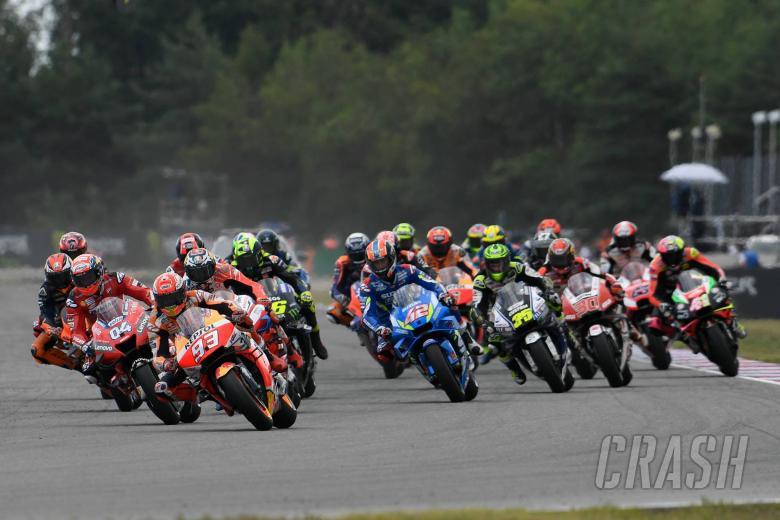 Marquez, Race start, Czech MotoGP race 2019