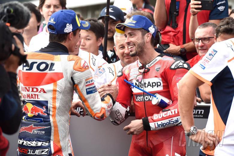 Dovizioso, Marquez, Czech MotoGP race 2019