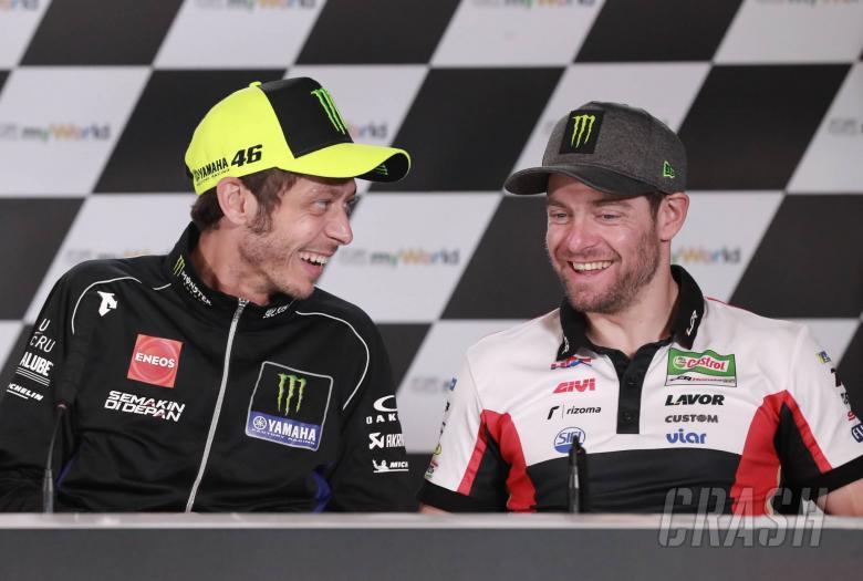Penundaan 'bisa mengisi ulang Rossi, baterai Crutchlow'