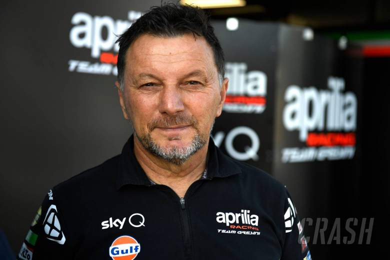 MotoGP team boss Fausto Gresini's condition 'slightly improving'