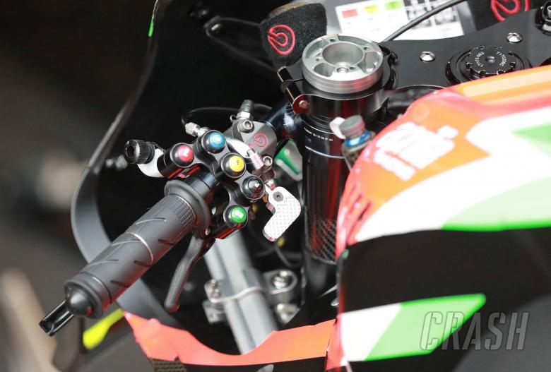 Aprilia switches, levers, Austrian MotoGP 2019