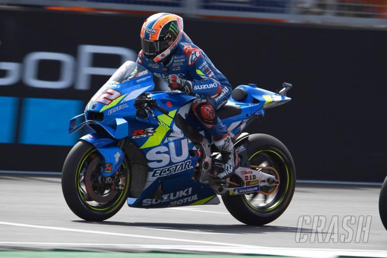 Suzuki: 'Yang terbaik belum datang' dari Rins