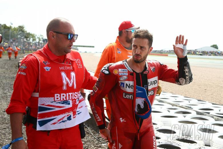 Dovizioso fully fit for MotoGP return at Misano