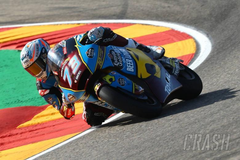 Moto2 Aragon - Full Qualifying Results