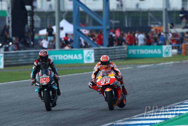 Quartararo, Marquez, MotoGP race, Thai MotoGP 2019