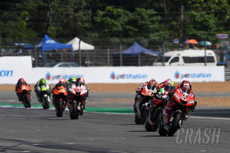 Petrucci puzzled by 'slow' straight, beginning of race