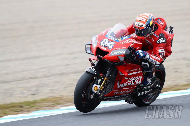 Dovizioso: Strange race, we suffered when grip was good
