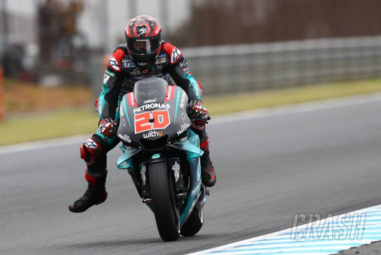 Quartararo beats own expectations for front row