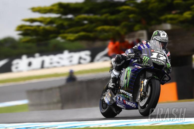 Vinales dominates to Australian MotoGP pole position