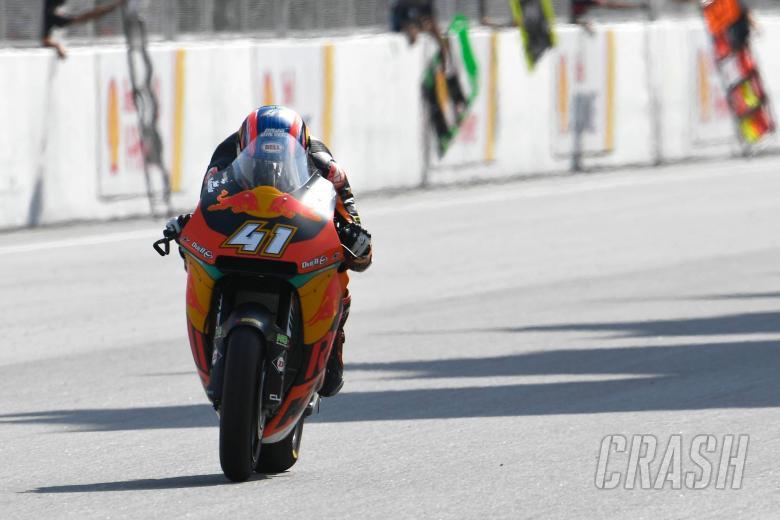 Moto2 Sepang: Binder wins race, but Marquez takes title
