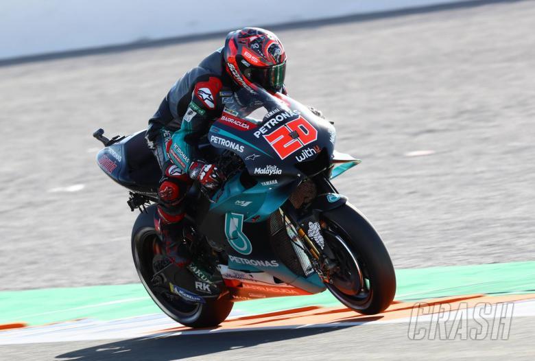 Quartararo leads Vinales as Rossi falls again in FP2