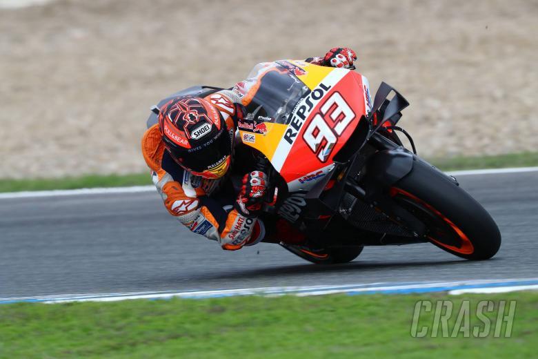 Jerez MotoGP test times - Tuesday (1pm)