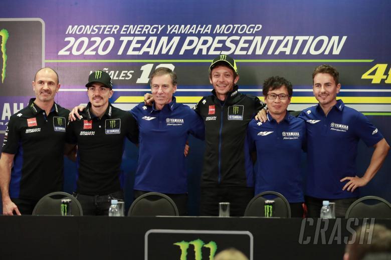 Maverick Vinales, Lin Jarvis,Valentino Rossi, Jorge Lorenzo, Sepang MotoGP test, February 2020
