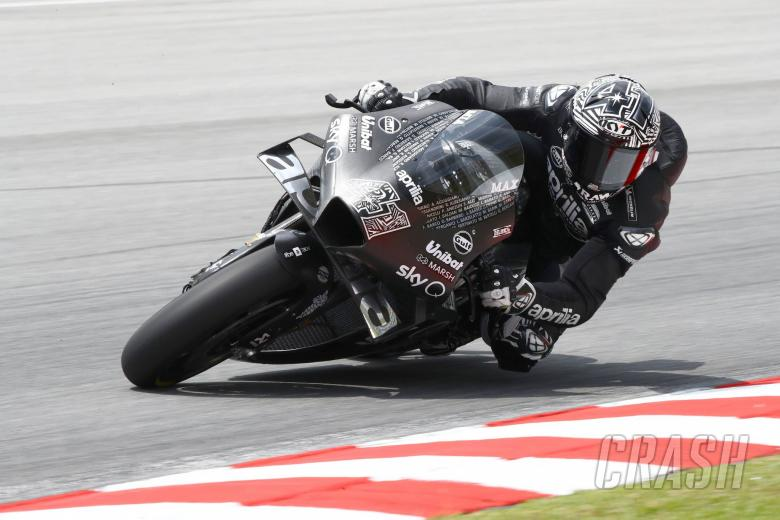 Aleix: New Aprilia smoothness unbelievable, engine very young