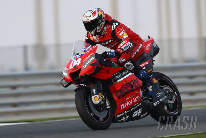 Dovizioso: New rear affects front tyre a lot