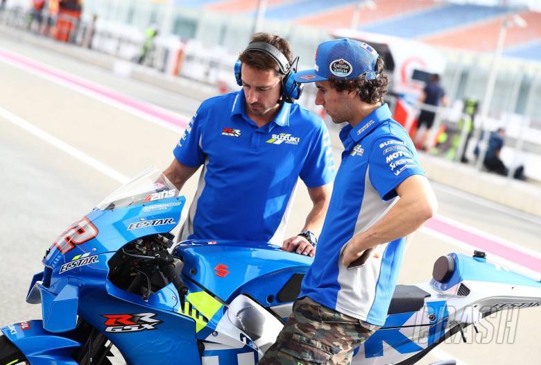 Suzuki: The bike was ready