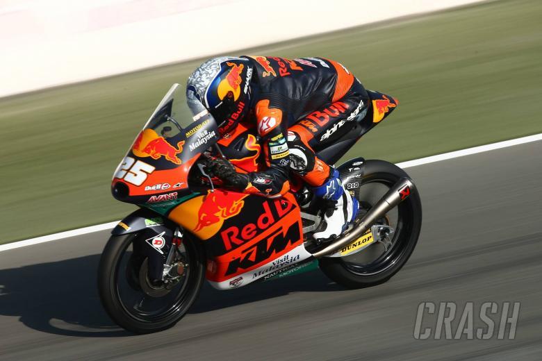 Fernandez mengalahkan McPhee untuk memimpin pemanasan Qatar Moto3