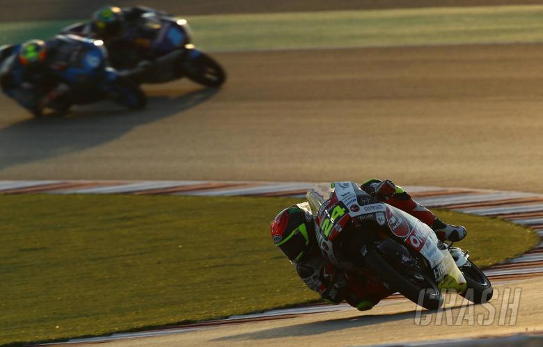Suzuki bertahan di tiang Moto3 Qatar setelah absen di putaran terakhir