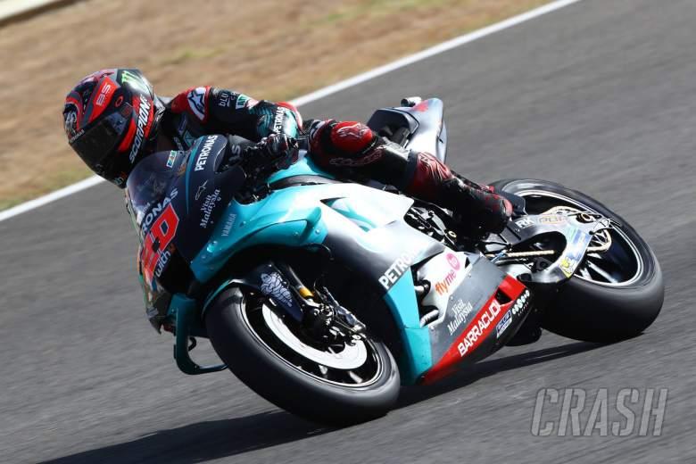 Quartararo melaju ke kemenangan MotoGP Spanyol, Marquez mengalami kecelakaan parah