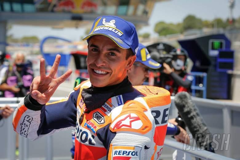 Marquez melepaskan tembakan peringatan yang tidak bisa diabaikan pasangan Yamaha