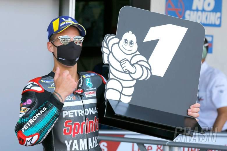 Quartararo bertahan 'sepuluh lap terpanjang' untuk kemenangan perdana MotoGP