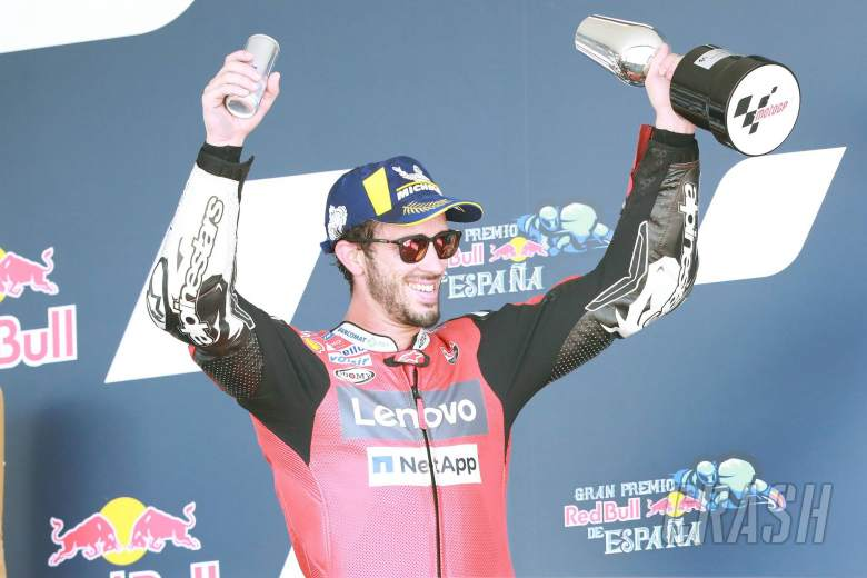 Podium seperti kemenangan tetapi Ducati harus meningkatkan - Dovizioso