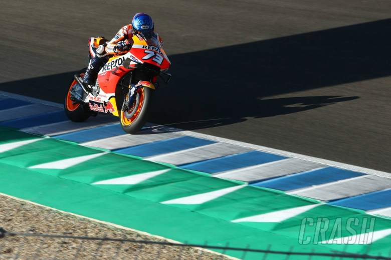 Alex Marquez 'doing a really good job' after 21st to 8th charge