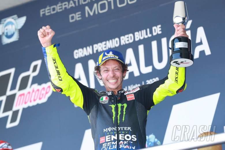Rossi membuktikan dirinya salah untuk bangkit kembali dengan naik podium Jerez tepat waktu