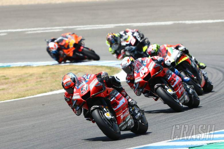 Petrucci: Engine brake was 'really outside the target'