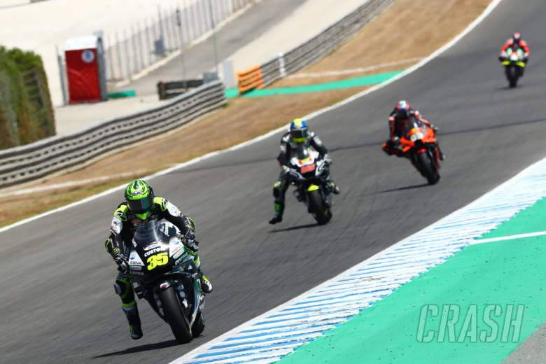 'Whiskey throttle' prompts Crutchlow to pit